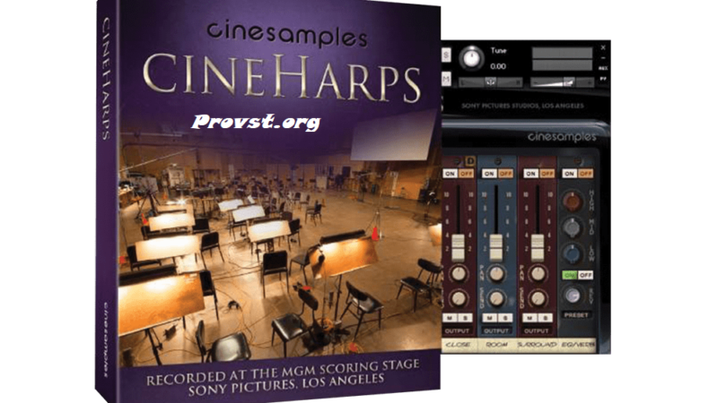 Cinesamples CineHarps Crack v1.7 Kontakt Latest 2021 Free Download
