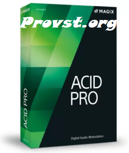MAGIX ACID Pro Crack 10.0.4.29 With Mac [Full review] 2021